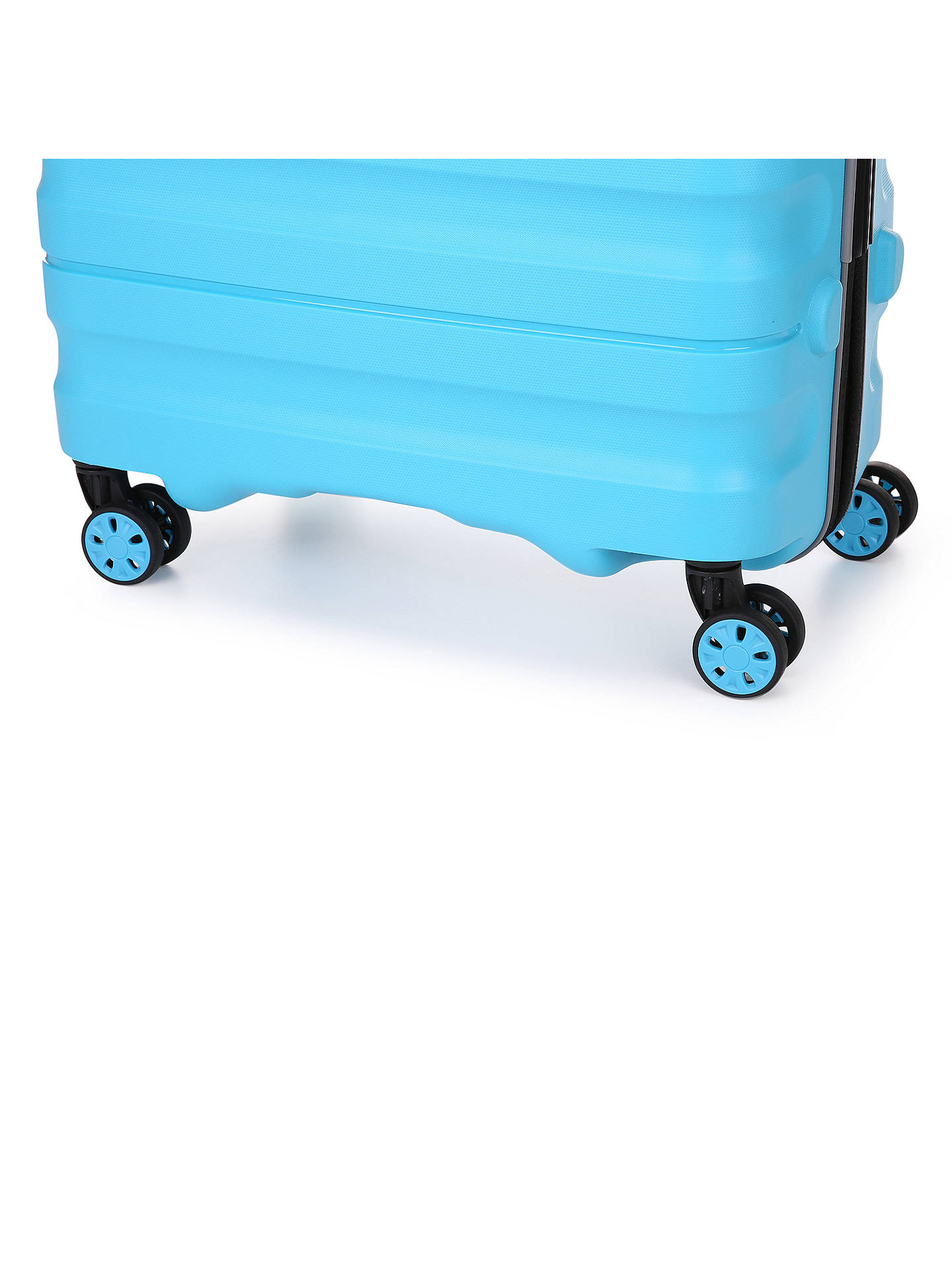 BuyAntler Juno 2 4-Wheel 55cm Cabin Suitcase, Turquoise Online at johnlewis.com