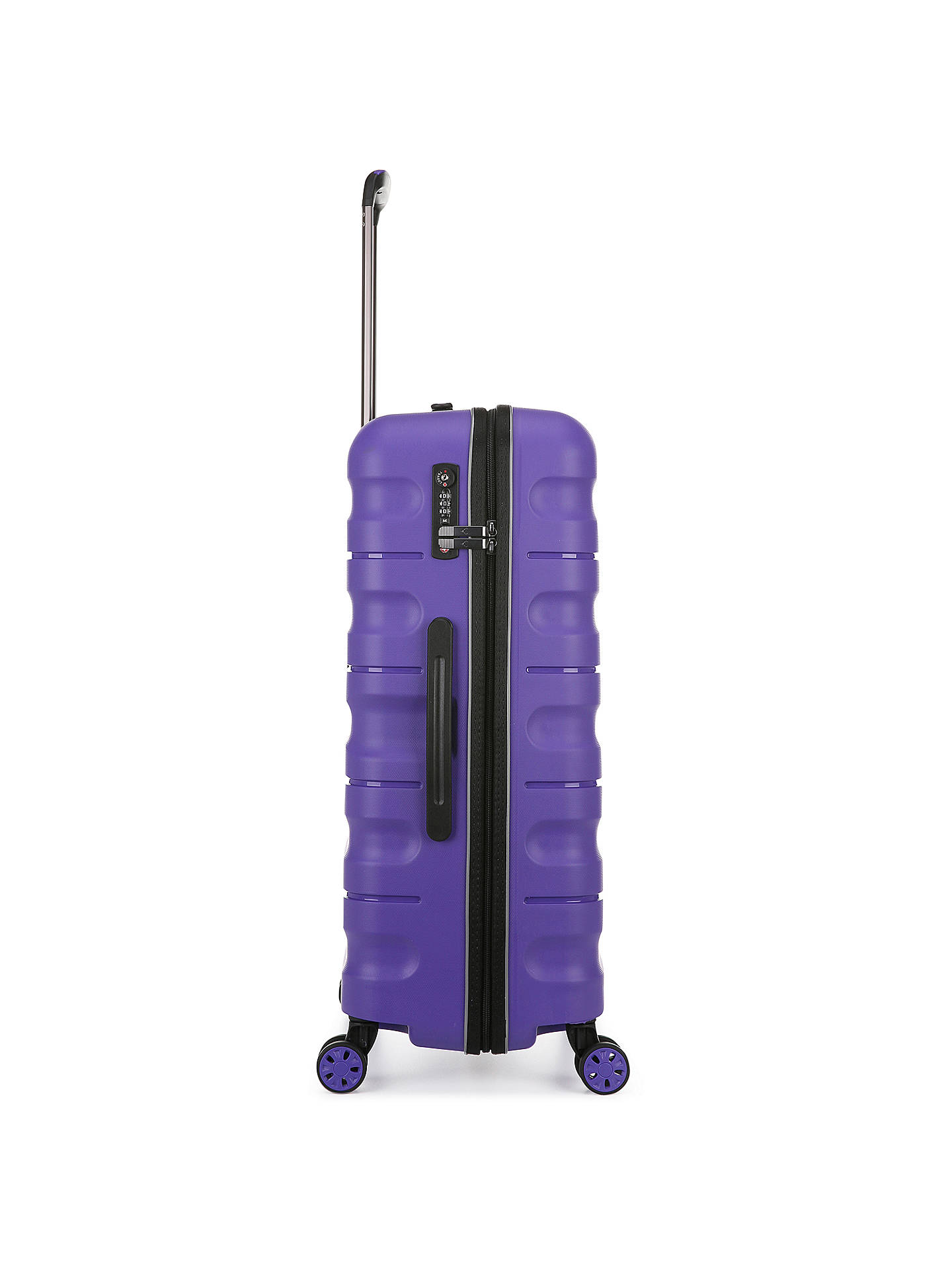 BuyAntler Juno 2 4-Wheel 68cm Medium Suitcase, Purple Online at johnlewis.com