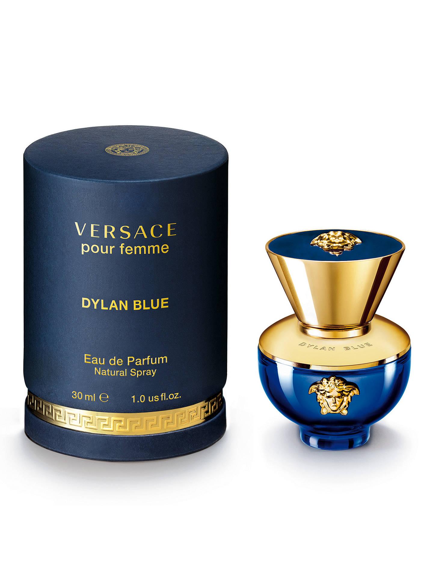 5112e711f322 ... BuyVersace Dylan Blue Pour Femme Eau de Parfum, 30ml Online at  johnlewis.com ...