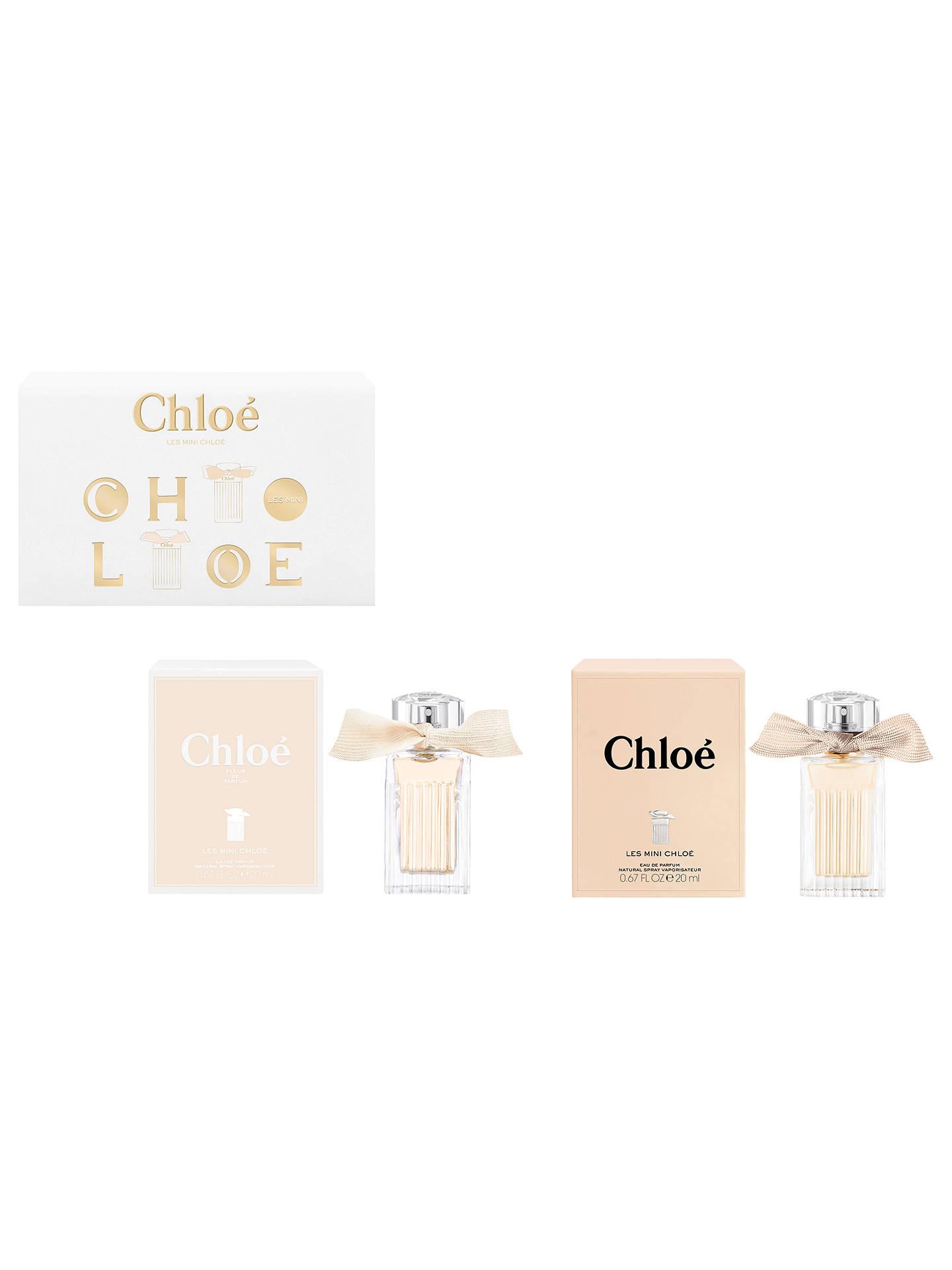 Chloé Mini Duo Eau De Parfum Fragrance Gift Set At John Lewis Partners