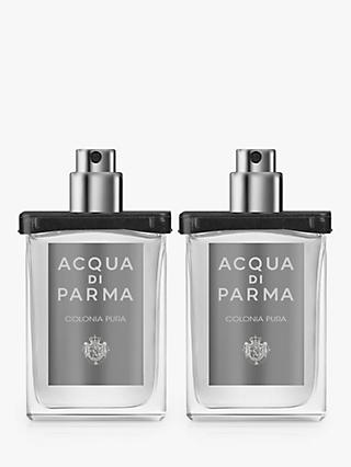 Acqua di Parma Colonia Pura Eau de Cologne Refill Spray, 2 x 30ml