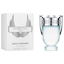 Buy Paco Rabanne Invictus Aqua Eau de Toilette Online at johnlewis.com