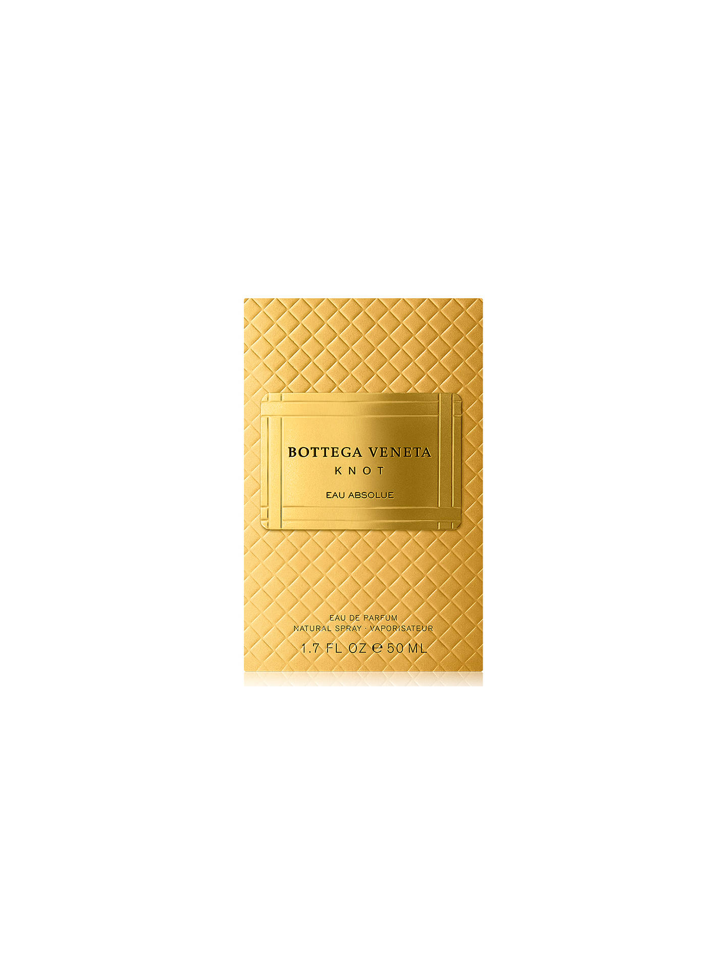 BuyBottega Veneta Knot Absolue Eau de Parfum, 50ml Online at johnlewis.com