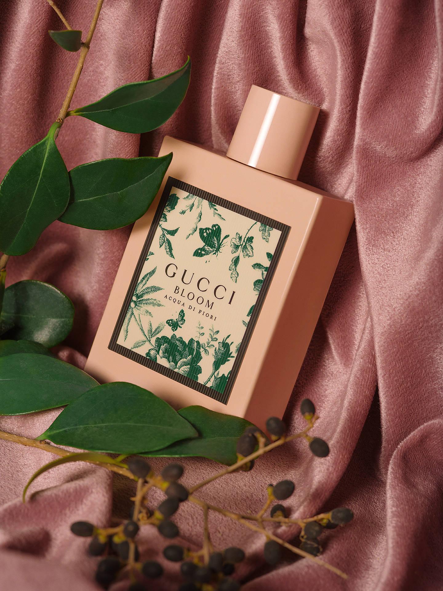 9216046c8b ... Buy Gucci Bloom Acqua Di Fiori Eau de Toilette, 50ml Online at  johnlewis.com