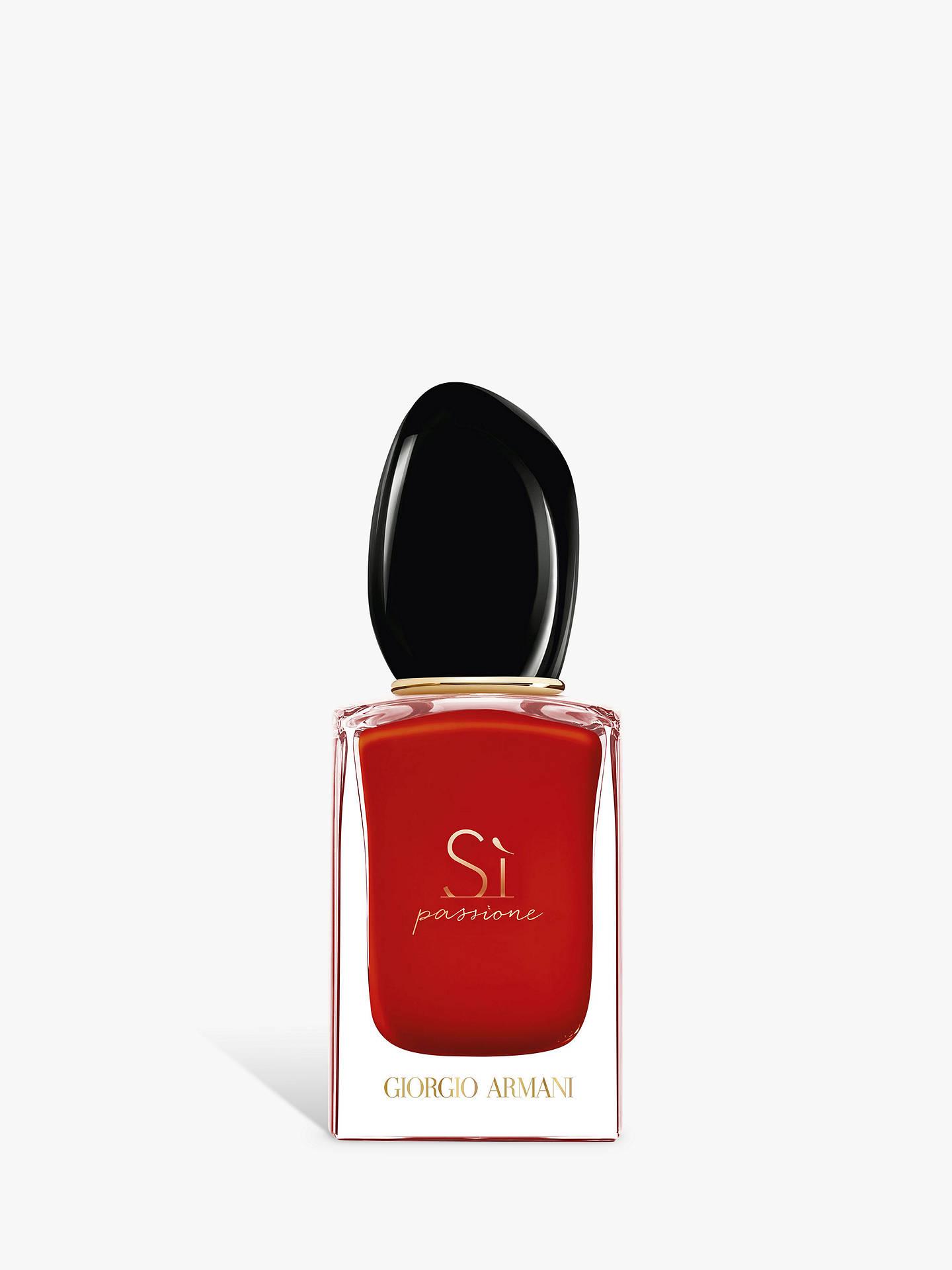 Giorgio Armani Si Passione Eau De Parfum At John Lewis Partners