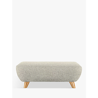 G Plan Vintage The Sixty Seven Footstool, Ash Leg, Etch Granite