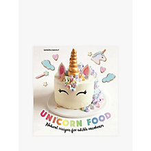 Buy Unicorn Food Recipe Book Online at johnlewis.com