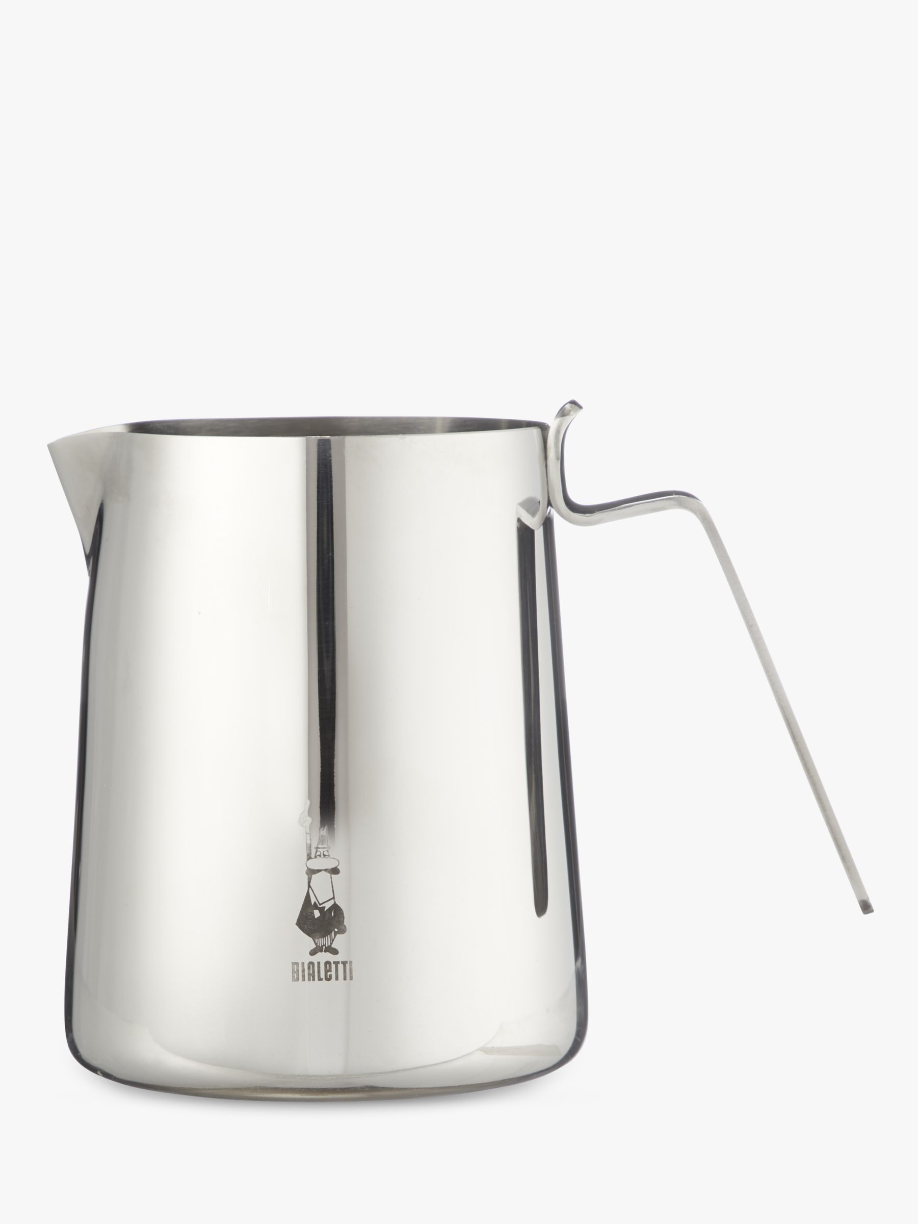 Bialetti Stainless Steel Milk Frothing Pitcher, 500ml