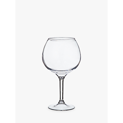 Image of John Lewis & Partners Acrylic Balloon Gin Glass, Clear, 770ml