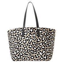 Buy Gerard Darel Le Simple Two Printed Tote Bag, Beige Online at johnlewis.com