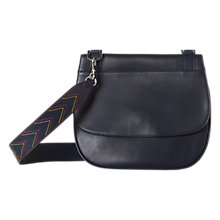 Buy Gerard Darel You Leather Shoulder Bag, Navy Online at johnlewis.com