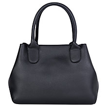 Buy Warehouse Mini Boxy Shopper Bag, Black Online at johnlewis.com