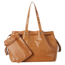 Buy Gerard Darel Simple 2 Bis Leather Tote Bag, Camel Online at johnlewis.com