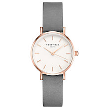 Buy ROSEFIELD Women's The Small Edit Leather Strap Watch Online at johnlewis.com