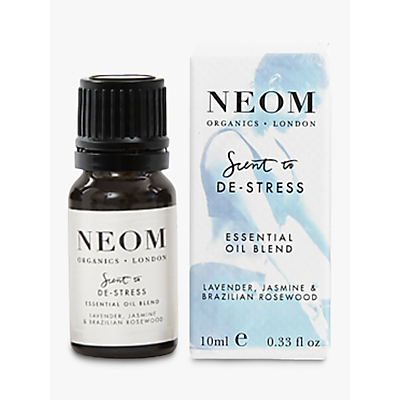 Neom Scent to De-Stress Essential Oil Blend, 10ml