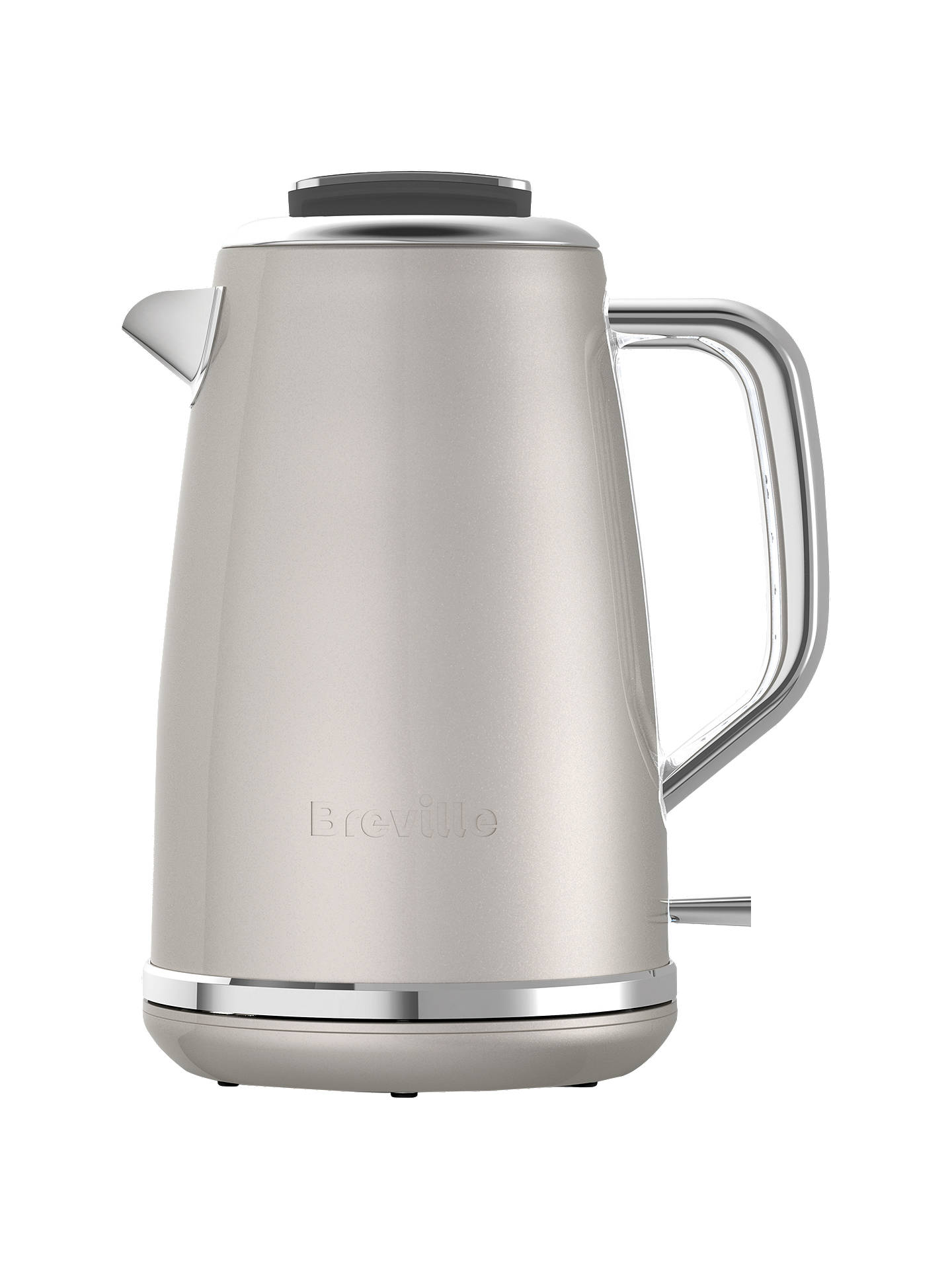 breville lustra kettle cream at john lewis partners