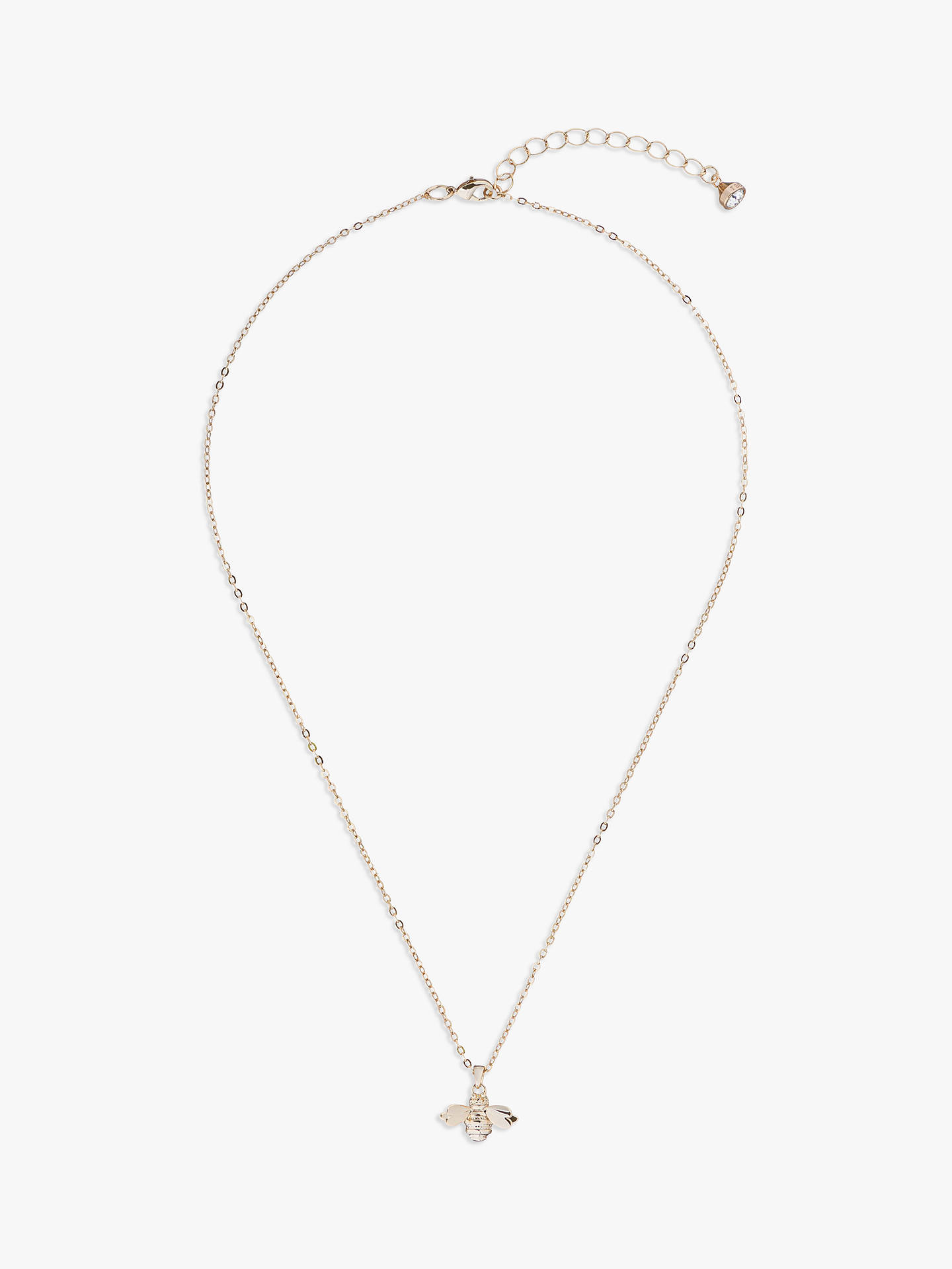 BuyTed Baker Bellema Bumble Bee Pendant, Gold Online at johnlewis.com