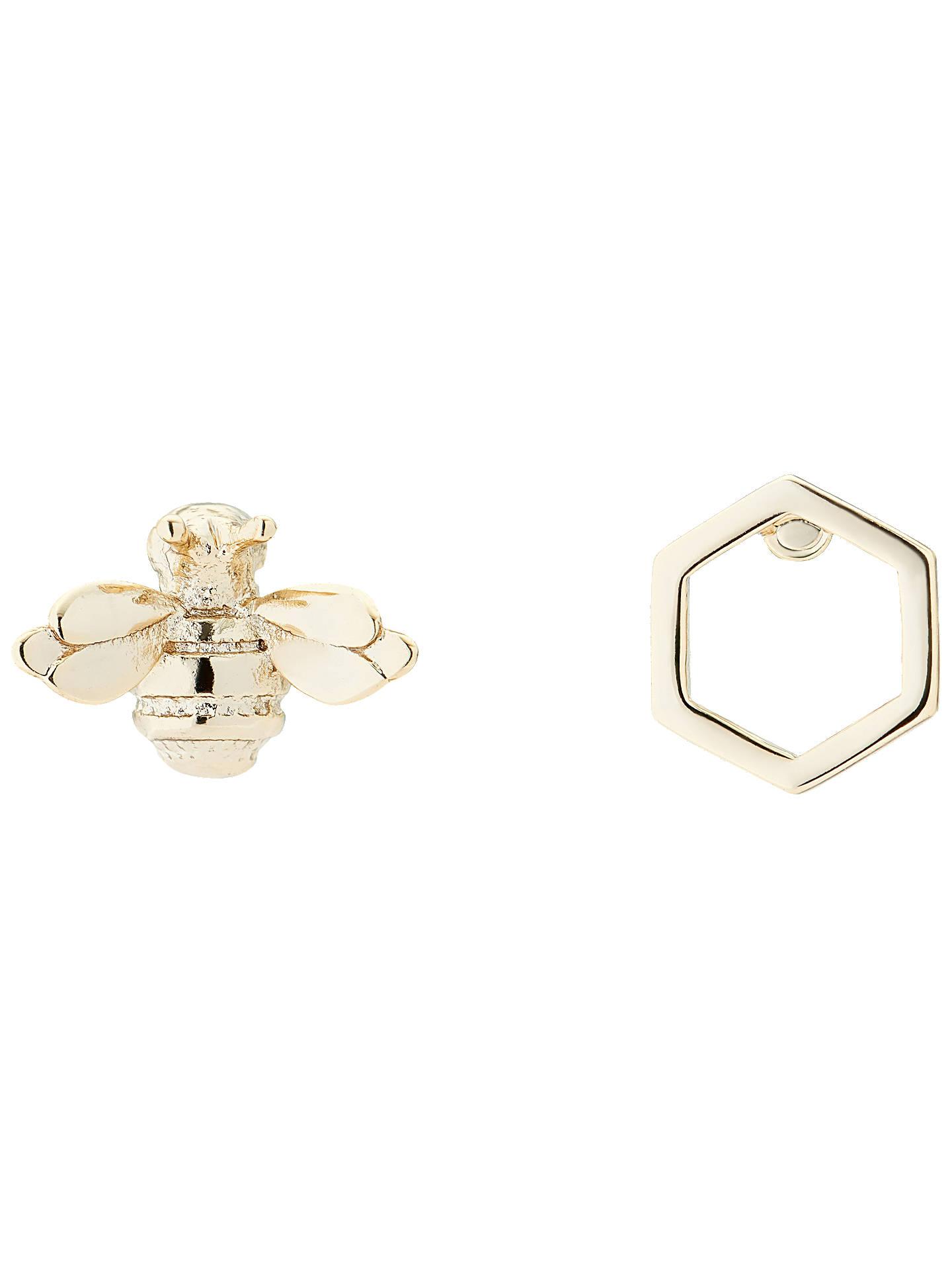 Ted Baker Blesila Ble Bee Stud Earrings Gold Online At Johnlewis