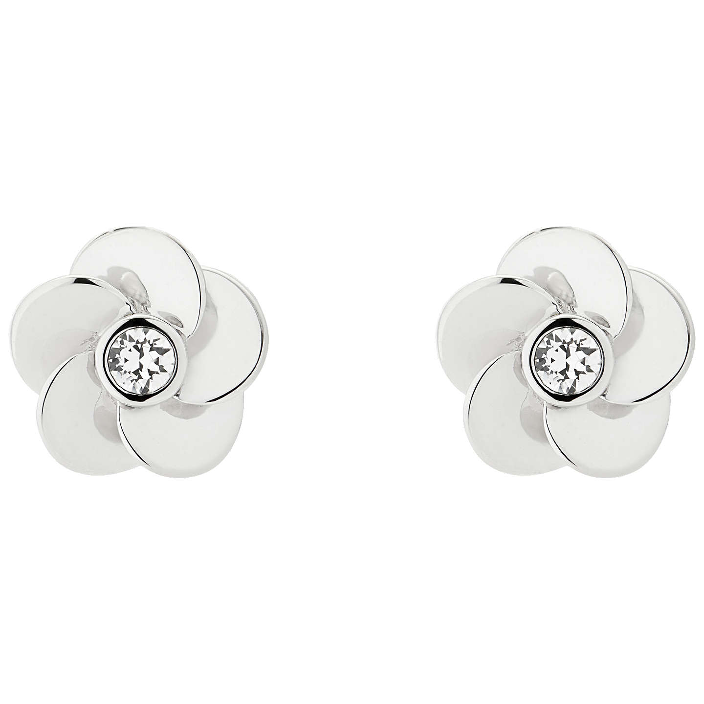 elena by pieces stud with cremation big flower spirit earrings ash products img
