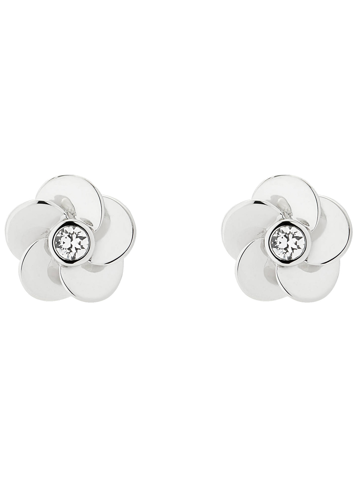 a7963660ec22 Ted Baker Pelipa Flower Stud Earrings at John Lewis   Partners