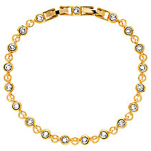 Buy Finesse Swarovski Crystal Tennis Bracelet Online at johnlewis.com