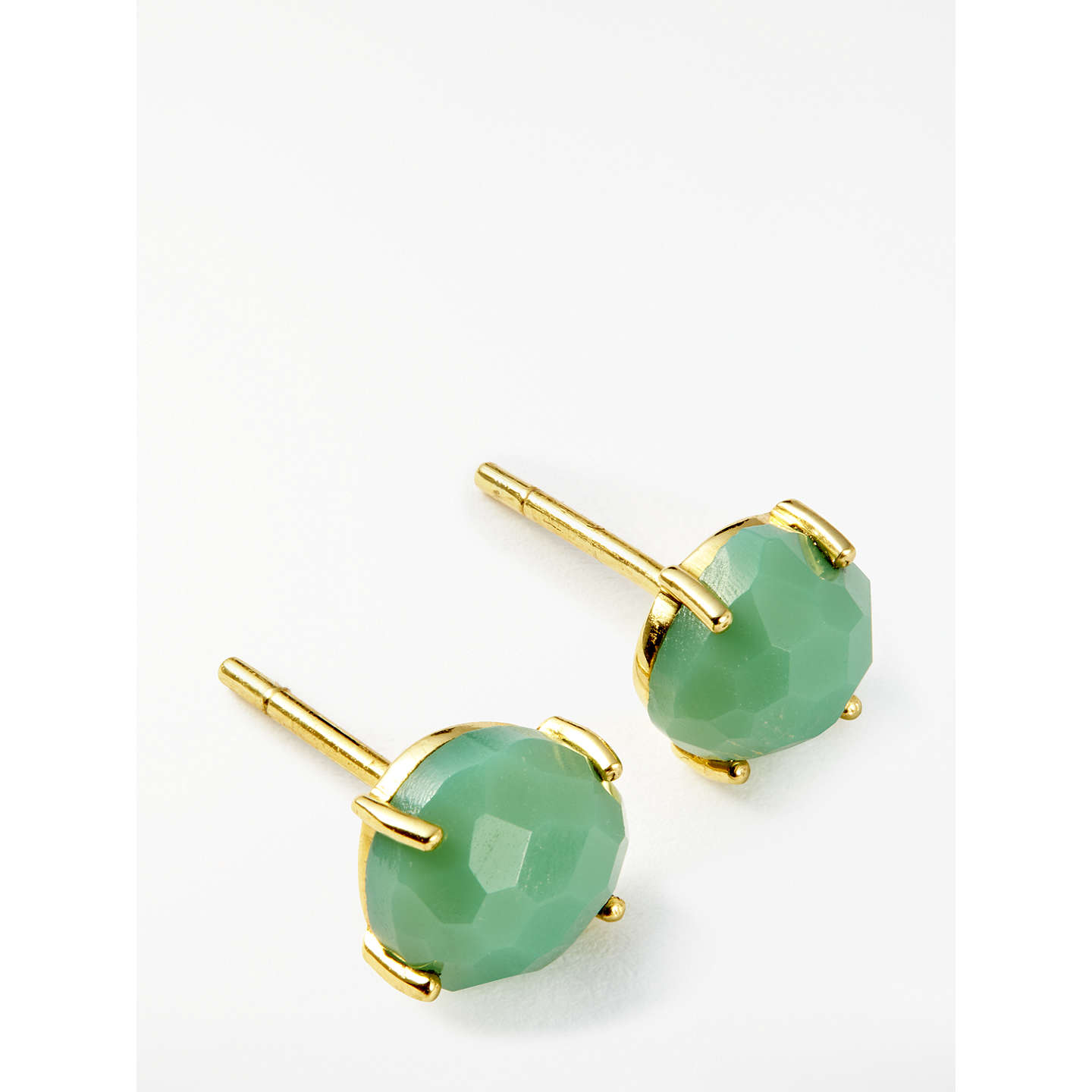 earrings stud and shop product polymer round marble gold clay