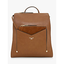 Buy Dune Ducky Medium Backpack, Tan Online at johnlewis.com