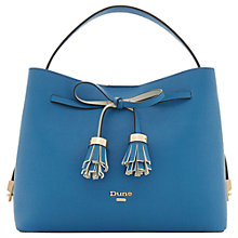 Buy Dune Dinidess Tassel Trim Grab Bag Online at johnlewis.com