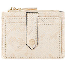 Buy Dune Kollie Zip Top Card Holder, Pink Online at johnlewis.com