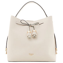 Buy Dune Dess Large Tassel Trim Bucket Bag Online at johnlewis.com