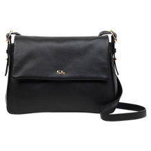 Tula Soft Originals Leather Large Flapover Cross Body Bag Online At Johnlewis