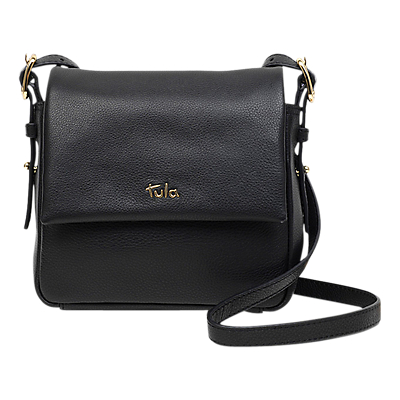Tula Soft Originals Leather Small Flapover Cross Body Bag