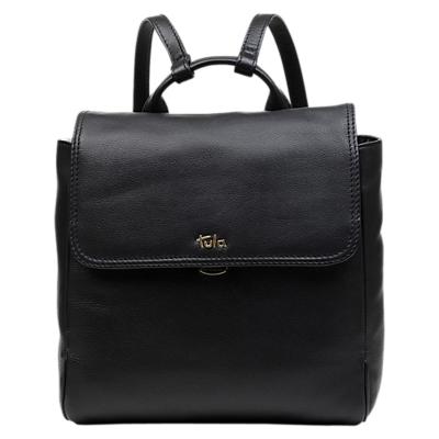 Tula Nappa Originals Medium Leather Backpack, Black