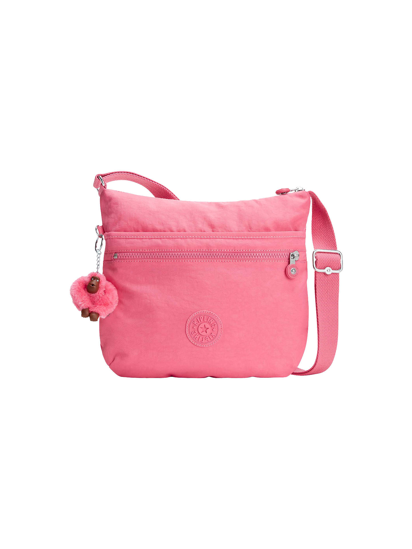 befac3e2343 Buy Kipling Arto Cross Body Bag, City Pink Online at johnlewis.com ...