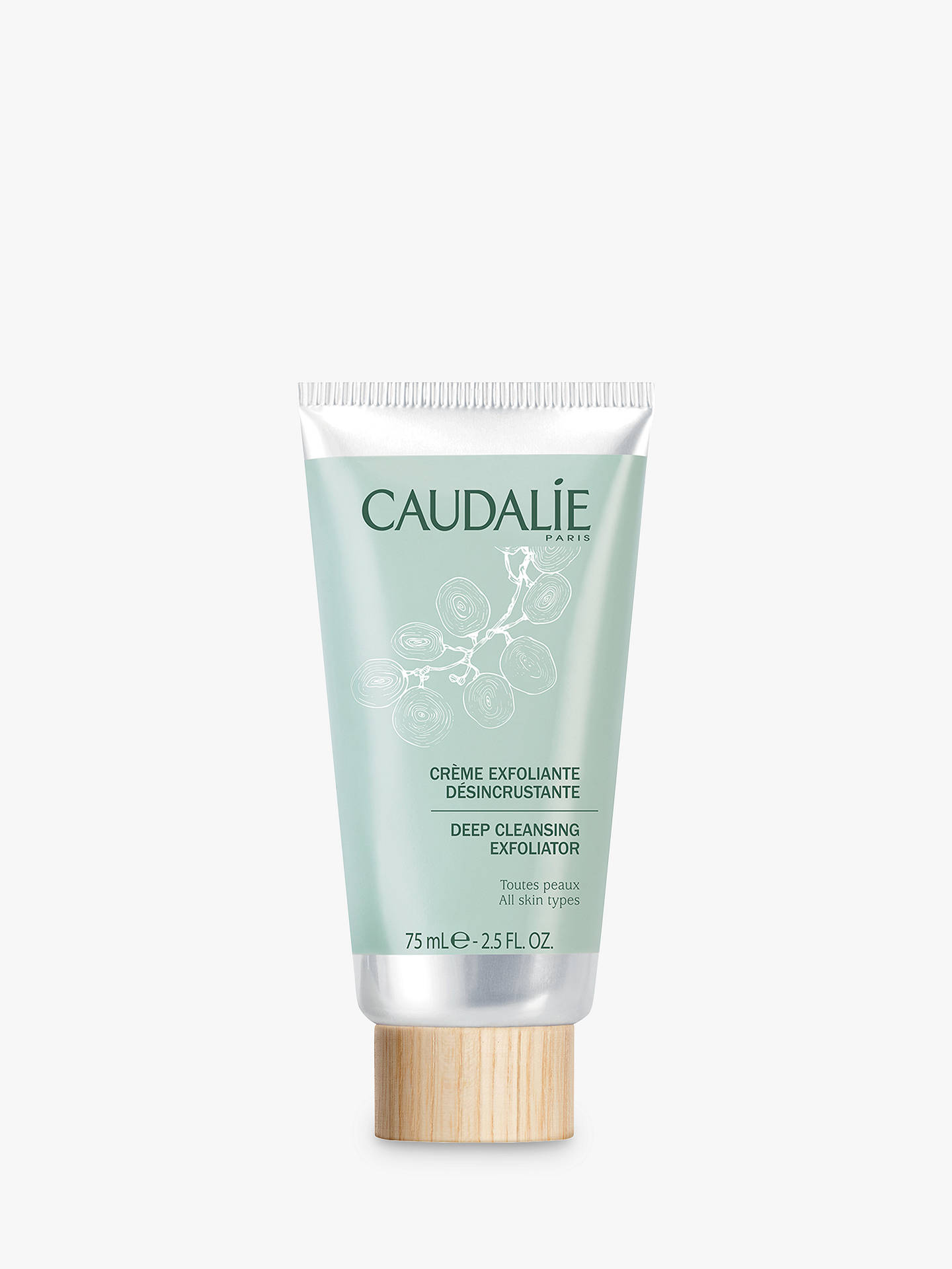 BuyCaudalie Deep Cleansing Exfoliator, 75ml Online at johnlewis.com