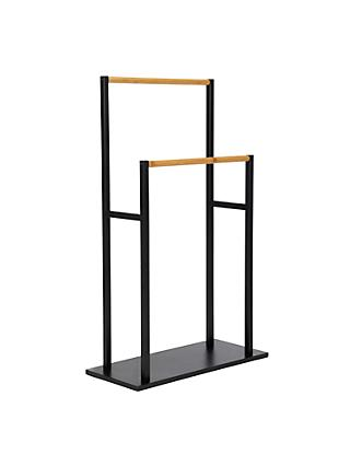 House by John Lewis Bamboo Towel Stand