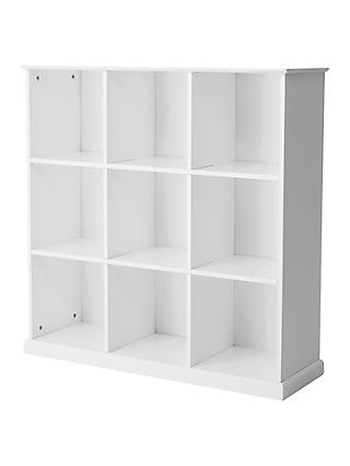 Great Little Trading Co Abbeville Nine Cube Storage Unit, White