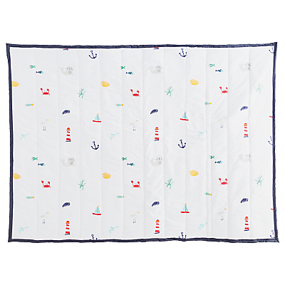 Great Little Trading Co Seaside Family Picnic Blanket, Multi