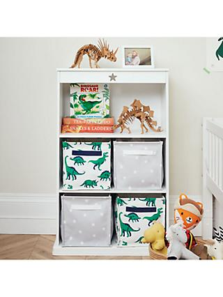 Great Little Trading Co Star Bright Bookcase White