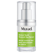 Buy Murad Retinol Youth Renewal Eye Serum, 15ml Online at johnlewis.com