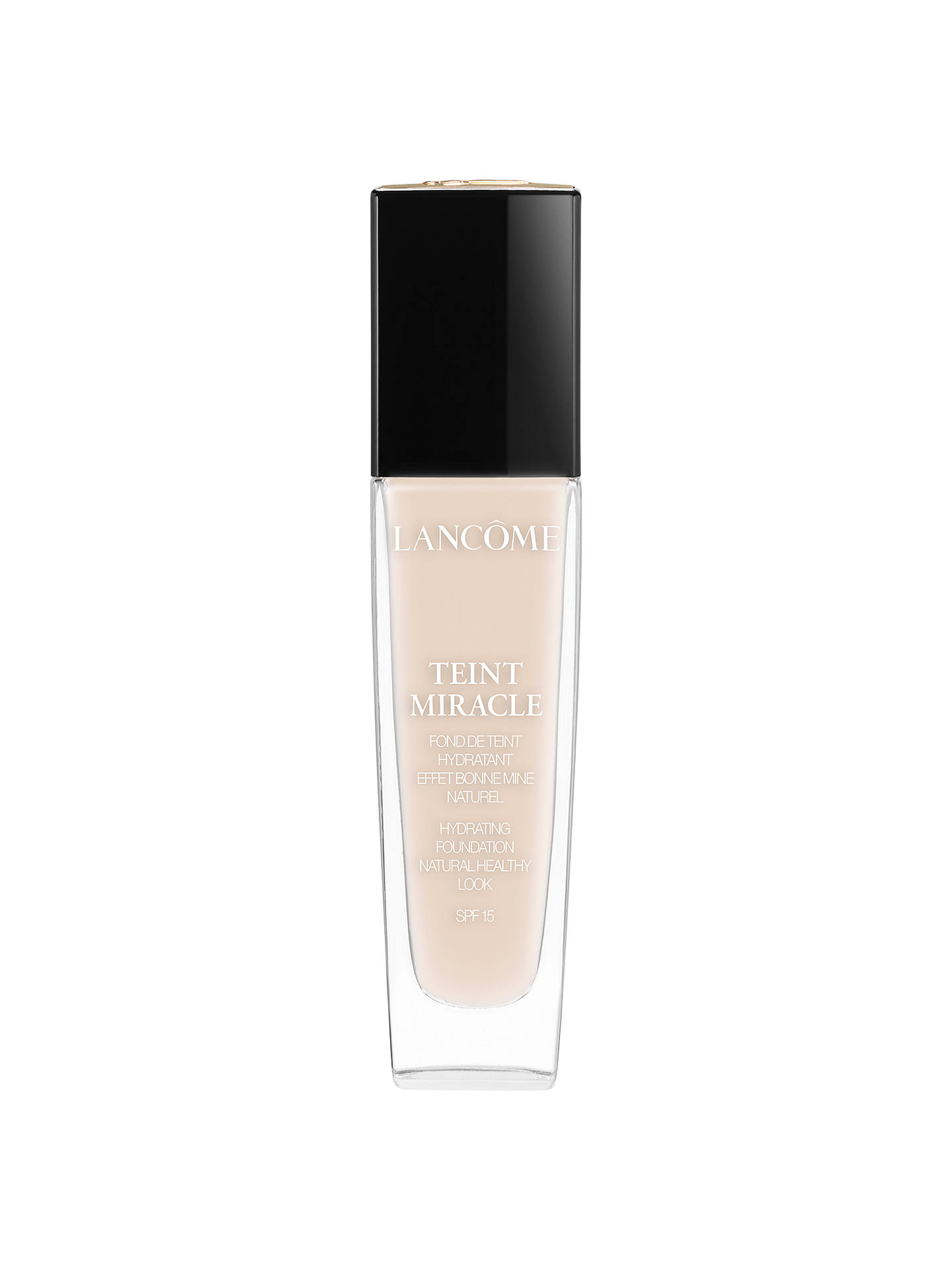 Buy Lancôme Teint Miracle Hydrating Foundation, 005 Beige Ivoire Online at johnlewis.com