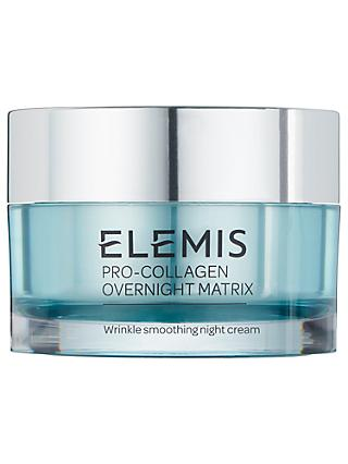 Elemis Pro-Collagen Overnight Matrix Moisturiser, 50ml
