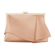 Buy Coast Rae Ruffle Clutch Bag, Rose Gold Online at johnlewis.com