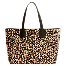 Buy Karen Millen Leopard Print Tote Bag, Multi Online at johnlewis.com