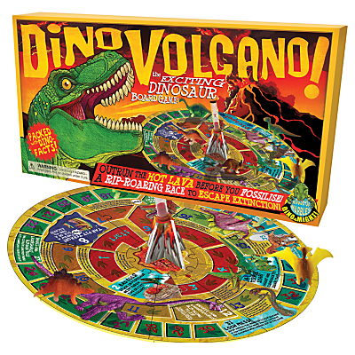 Image of House of Marbles Dino Volcano Board Game