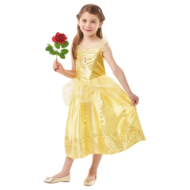 Disney Princess Beauty and the Beast Belle Fancy Dress Costume 5 6