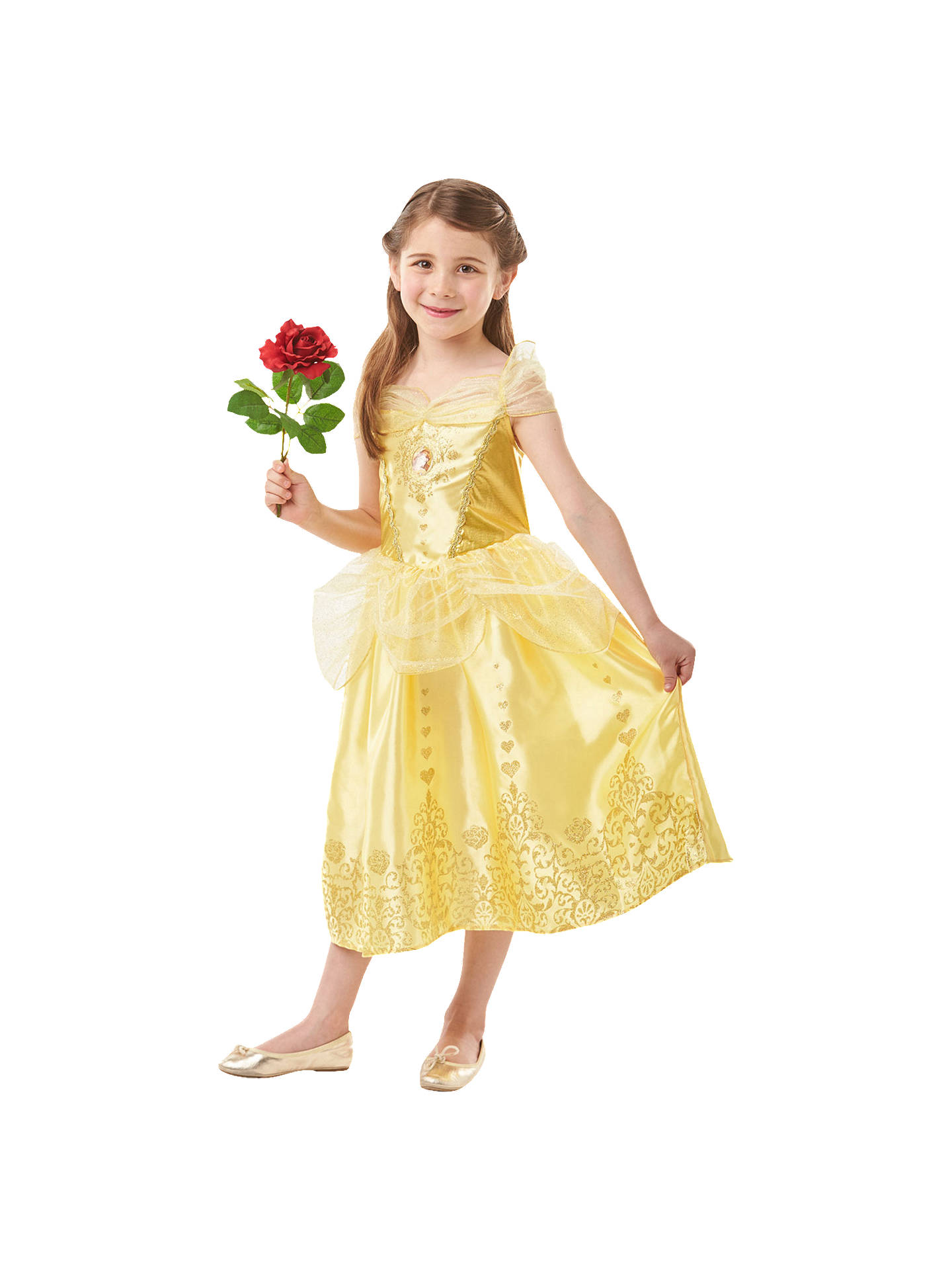 BuyDisney Princess Beauty and the Beast Belle Children's Costume, 5-6 years Online at johnlewis.com