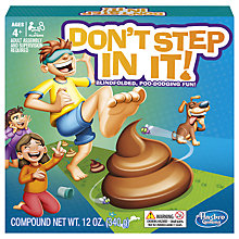 Buy Hasbro Don't Step In It Game Online at johnlewis.com