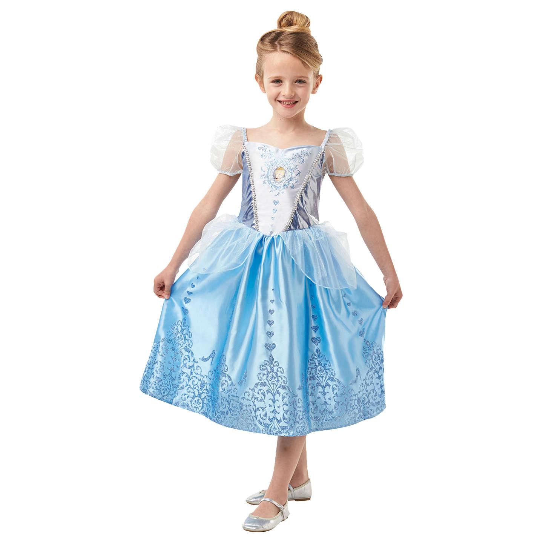 Disney Princess Cinderella Fancy Dress Costume, 5-6 years at John Lewis