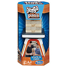 Buy Hasbro Jenga Pass Challenge Game Online at johnlewis.com